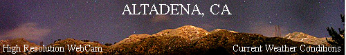 The Altadena WeatherCam